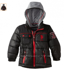 Стильная куртка  U. S. Polo Assn для мальчишек. США, оригинал.