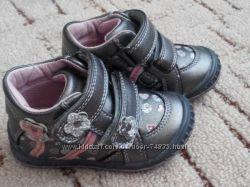 Деми ботиночки Beeko для девочки р-р 20. Натуральная кожа
