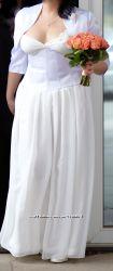 Продам свадебный комплект дёшево платье, корсет, болеро.