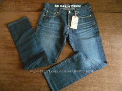 крутые Брендовые джинсы ОРИГИНАЛ в меру зауженные