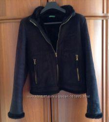 Куртка - искусственная дубленка Benetton