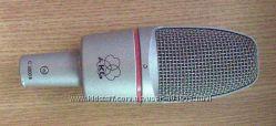 продам студийный конденсаторный микрофон AKG С3000B