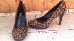 Оригинальные туфли а ля леопард