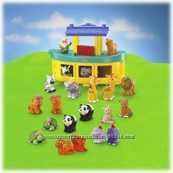 Ноев Ковчег Fisher Price серии Little People 20 фигурок животных