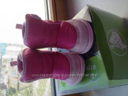 Ботинки Crocs для малышки