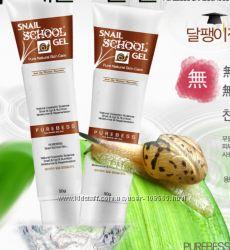 Улиточный гель Snail School gel cream от фирмы PUREBESS
