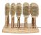 Olivia Garden Healthy Hair Thermal- термобрашинги бамбуковые