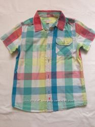 Наши рубашки OLD NAVY , Crazy8, р. 4Т, 5Т