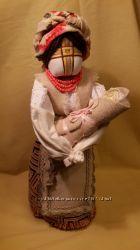 Лялька-мотанка Мати з немовлям