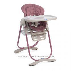 Мега популярный стульчик для кормления с рождения CHICCO POLLY MAGIC