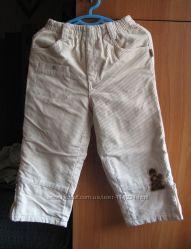 Демисезонные брюки Оранжевый верблюд мальчику, рост 98-104 см