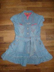 красивое джинсовое платье Coolclub