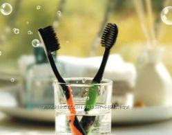 Набор зубных щеток с щетиной из бамбукового угля Nano Dental Care Charcoal