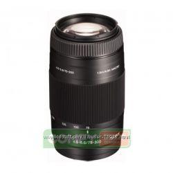 Продам новый телеобъектив к фотокамере Sony 75-300mm f4. 5-5. 6 SAL-75300