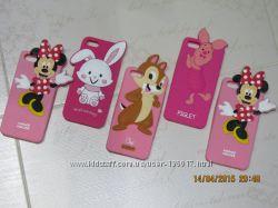 Силиконовый чехол Piglet от Disney для iPhone 5 5S