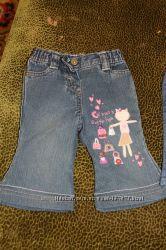 Фирменные джинсики для малышки