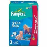 Подгузники Pampers Active Baby, хорошие цены, доставка по Киеву
