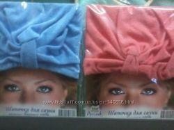 Банные сарафаны и шапочки для женщин в наличии