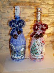 Эксклюзивное шампанское и вино ручной роботы на любую тематику