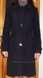 Стильное , брендовое пальто Naf Naf красивого коричневого цвета. Размер 36