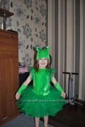 Карновальный костюм жабки, лягушки, цветочка