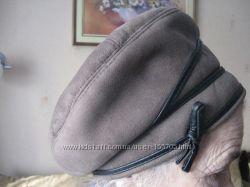 Новая шапка из искусственной дубленки