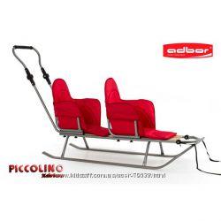 Санки для двойняшек и погодок ADBOR Piccolino X-DRIVE  DUO Актуальная цена