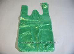 Полиэтиленовые пакеты, майка размером 24-43