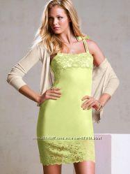 Victorias Secret классное лимонное платье