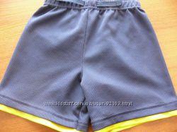 Классные хлопковые шорты  на 3-4 годика