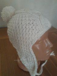 Очень теплая осенне-зимняя шапочка