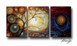 Яркая картина Жизнь во всех красках