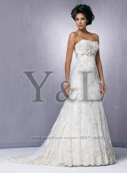 Нежное платье для стильной невесты